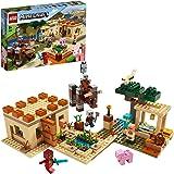 LEGO Minecraft L'IncursionedellaBestia, Set da Costruzionedel Villaggio conRavagereKai,Giochi di Avventura per Ragazzi