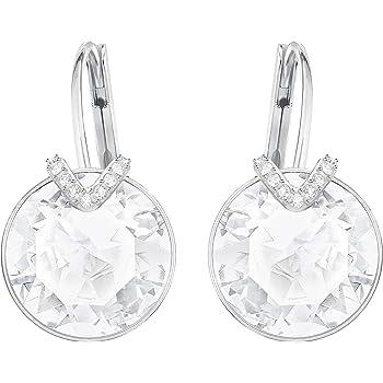 f3b9f175a Swarovski Women Gold Plated Stud Earrings - 5349963: Amazon.co.uk ...