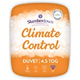 Slumberdown Climate Control Dubbel Dekbed 4.5 Tog Zomer Dekbed Tweepersoonsbed