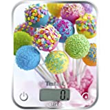 Tefal Optiss Cake Pops–Balance de cuisine, capacité 5kg, 2piles AAA