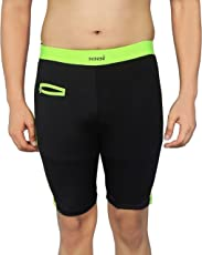 NNN Men's Black Long Lycra Swimming Trunk