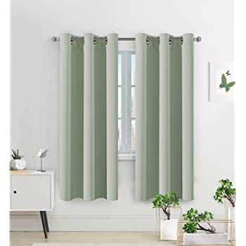 HVersailtex Thermal Insulated Eyelet Blackout Curtains Bedroom Solid Supersoft With Two FREE Tiebacks