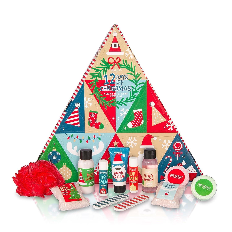 MAD Beauty 12 Days of Christmas Advent Calendar: Amazon.co.uk ...