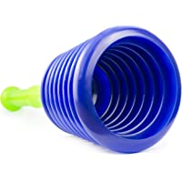Luigi's Large Sink and Drain Plunger for Kitchens, Bathrooms, Sinks, Baths, Waste Pipes and Showers. Heavy Duty…
