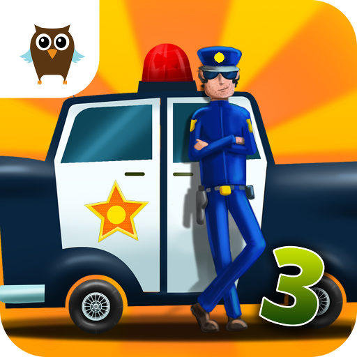 Car Builder 3 Mad Race - Police Car Chase, Hippie Van Mechanic, Monster Truck Driver and Tank Battle