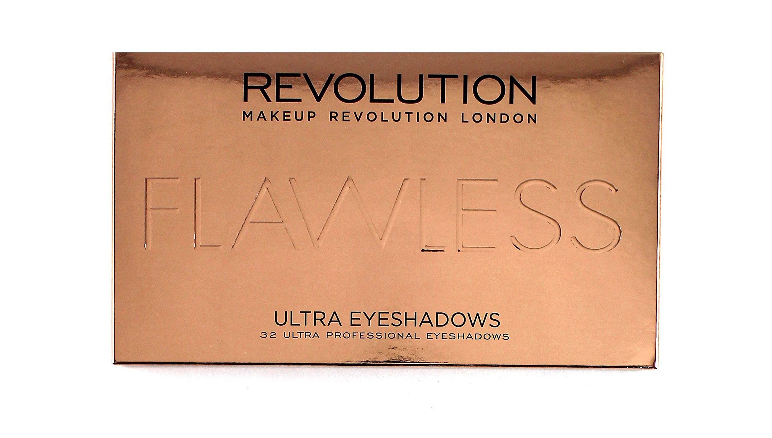 Makeup Revolution Shimmers And Matte Nudes Ultra 32 Eyeshadows Flawless Palette 2