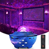 LED Stellare Proiettore Luci, Delicacy Bluetooth Stellato Proiettore, Rotante Nebulosa Notturna Luce con Timer e Telecomando,