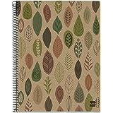Cuaderno A4 Papel 70g Microperforado con 4 Taladros para 4 anillas Miquel Rius 120 Hojas Cuadr/ícula Color Lavanda 4 franjas de color Tapa Extradura Dise/ño Drops