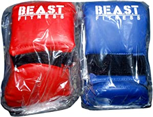 Beast Fitness Karate Gloves Combo (Red & Blue)