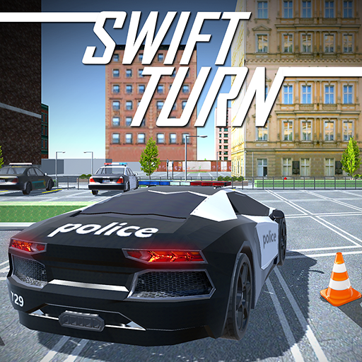 Delta Police Car Drift Drive-r -