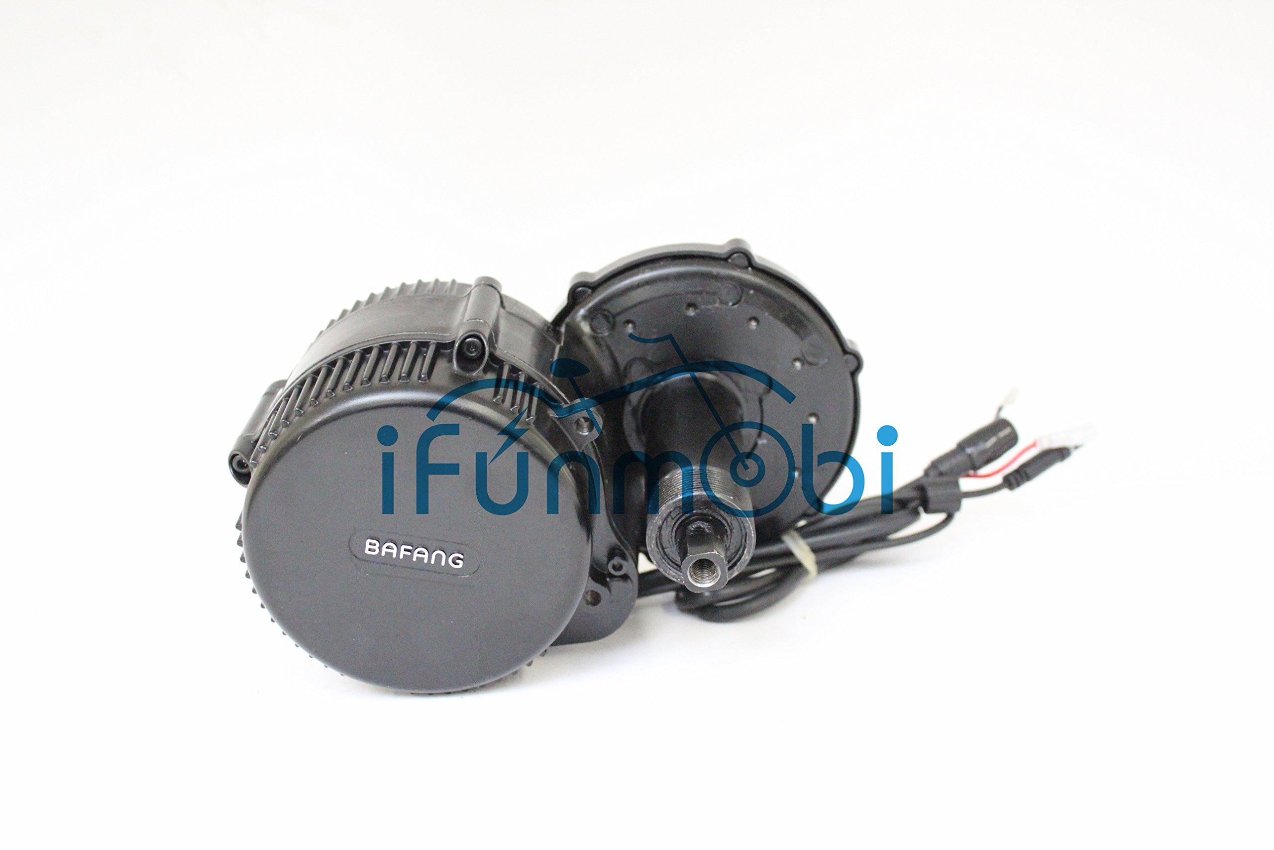 81KKadaLLIL - 48V 750W Bafang 8fun Mid Crank Drive Motor Conversion Kits + 48V 14.5AH Down Tube TigerShark Frame CasePanasonic Cell…
