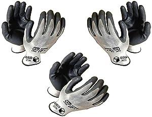 Siddhivinayak Anti Cut Hand Gloves Pack of 3- Grey