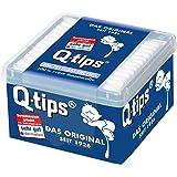 Q-tips Pflegestäbchen, Würfelbox, 12er Pack (12 x 206 Stück)