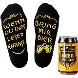 Top-Geschenk24.de Bier Socken Herren, Bier Geschenke zu Fußball-Bundesliga, lustiges Geburtstagsgeschenk für Männer…