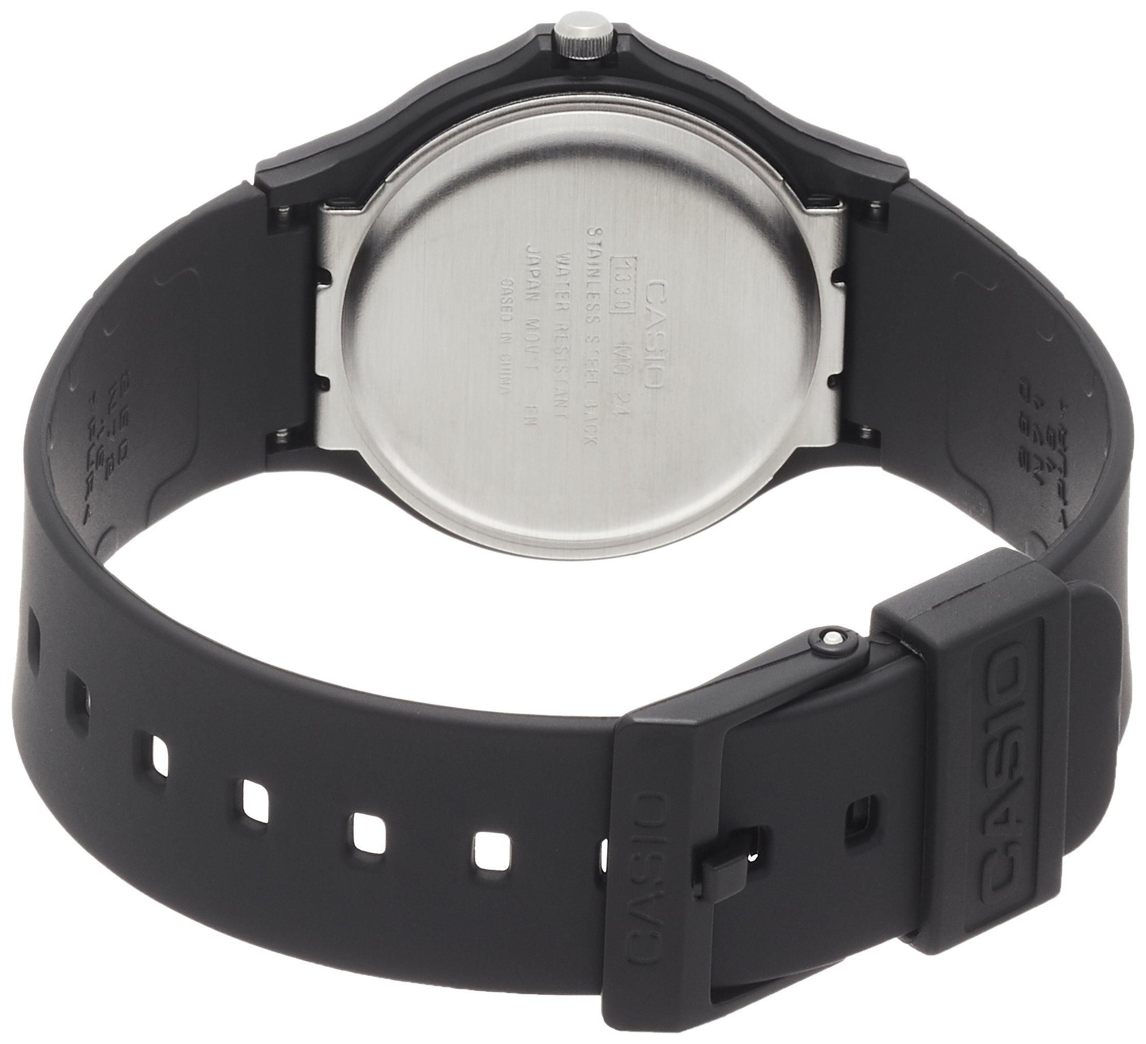 CASIO 2729 MQ-24-7B – Reloj Caballero Cuarzo Correa Caucho Negro