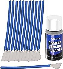 UES APS-C Frame (CCD/CMOS) Digital Camera Sensor Cleaning Kit - Swab Type 2 (Box of 12 X 16mm Swab + 15ml Sensor Cleaner)
