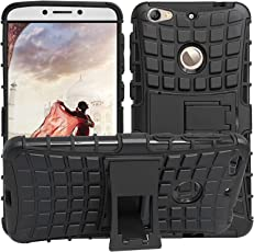 RJM Sales & Service Vivo V7 Defender Stylish Hard Back Armor Shock Proof Case Cover with Back Stand Feature