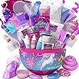GirlZone Regalos para Niñas - Slime para Niños - Slime Kit Huevo Sorpresa de Fábrica de Slime Unicornio - Unicorn Egg Sparkly
