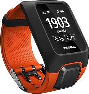 Tomtom Adventurer Multisport-GPS-Uhr, mit eingebautem Herzfrequenzmesser, Musikplayer, Höhenmesser, Kompass