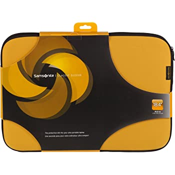 """Samsonite Classic MacBook Laptop Sleeve Bag Case Pouch Cover 14/"""" Yellow"""