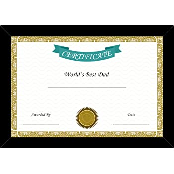 buy 100yellow world s best father certificates with frame online at