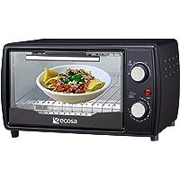Mini four 1000 W 10 litres Avec plaque de cuisson et grille de cuisson Four à pizza 90-230 °C Minuterie de 60 minutes…