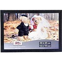 AJANTA ROYAL Big Photo Frames 12 x 18 Inch : A-185 (1 Qty, Black)