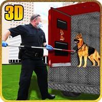 Crazy Dog Animal Transport Truck Duty Driver Simulator 3D: Transporteur Animal Sauvage Cargo Racing Stationnement Jeux D'Aventure Gratuit Pour les Enfants 2018