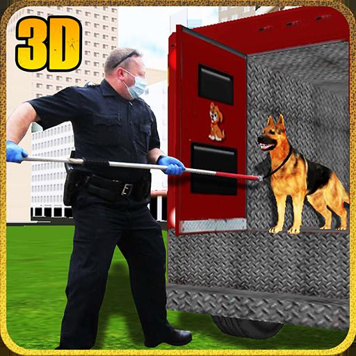 Crazy Dog Animal Transport Truck Duty Driver Simulator 3D: Wild Animal Transporter Cargo Racing Parking Driving Adventure Games Free For Kids 2018