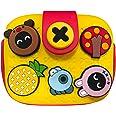 Richgv Borsa a tracolla per bambini, borsa a tracolla leggera, borsa per bambine Borsa per bambini carina facile da pulire co