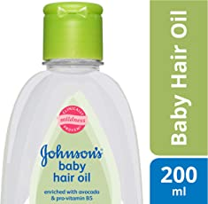 Johnson's Baby Hair Oil (200ml)