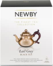 Newby Teas Earl Grey Silken Pyramids, 25g (Pack of 10)