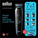Braun All-in-one trimmer MGK3245, 7-in-1 trimmer, 5 attachments