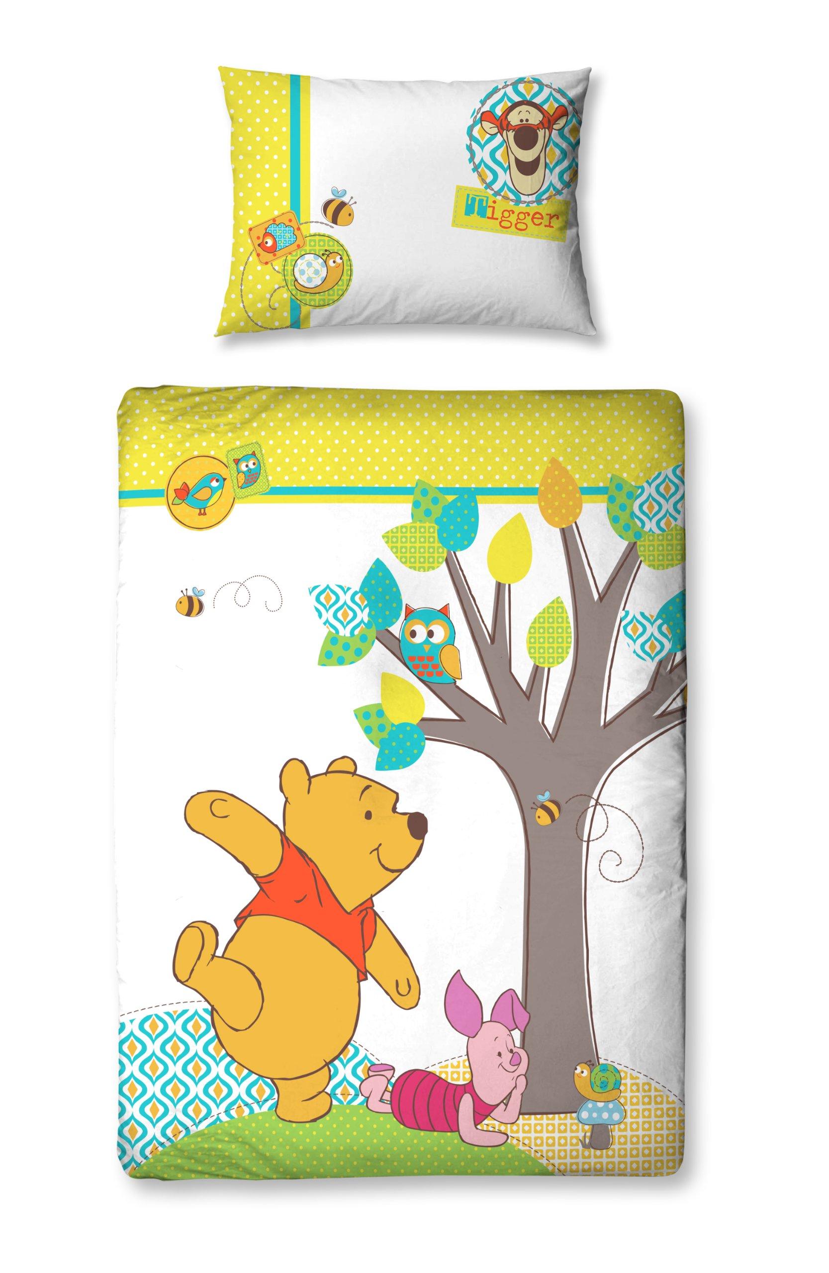 Copripiumino Winnie The Pooh.Dettagli Su Character World Disney Winnie The Pooh Forest Completo Copripiumino 125 D1e