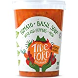 Tideford Organics Tomato Plus Basil Soup with Red Peppers, 600g