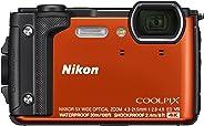 Nikon W300 Waterproof Underwater Digital Camera with TFT LCD (Orange)