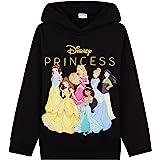 Disney Sudadera Niña De Princesas Capucha, Ropa Niña De 2-12 Años, Tops para Niñas De Algodón