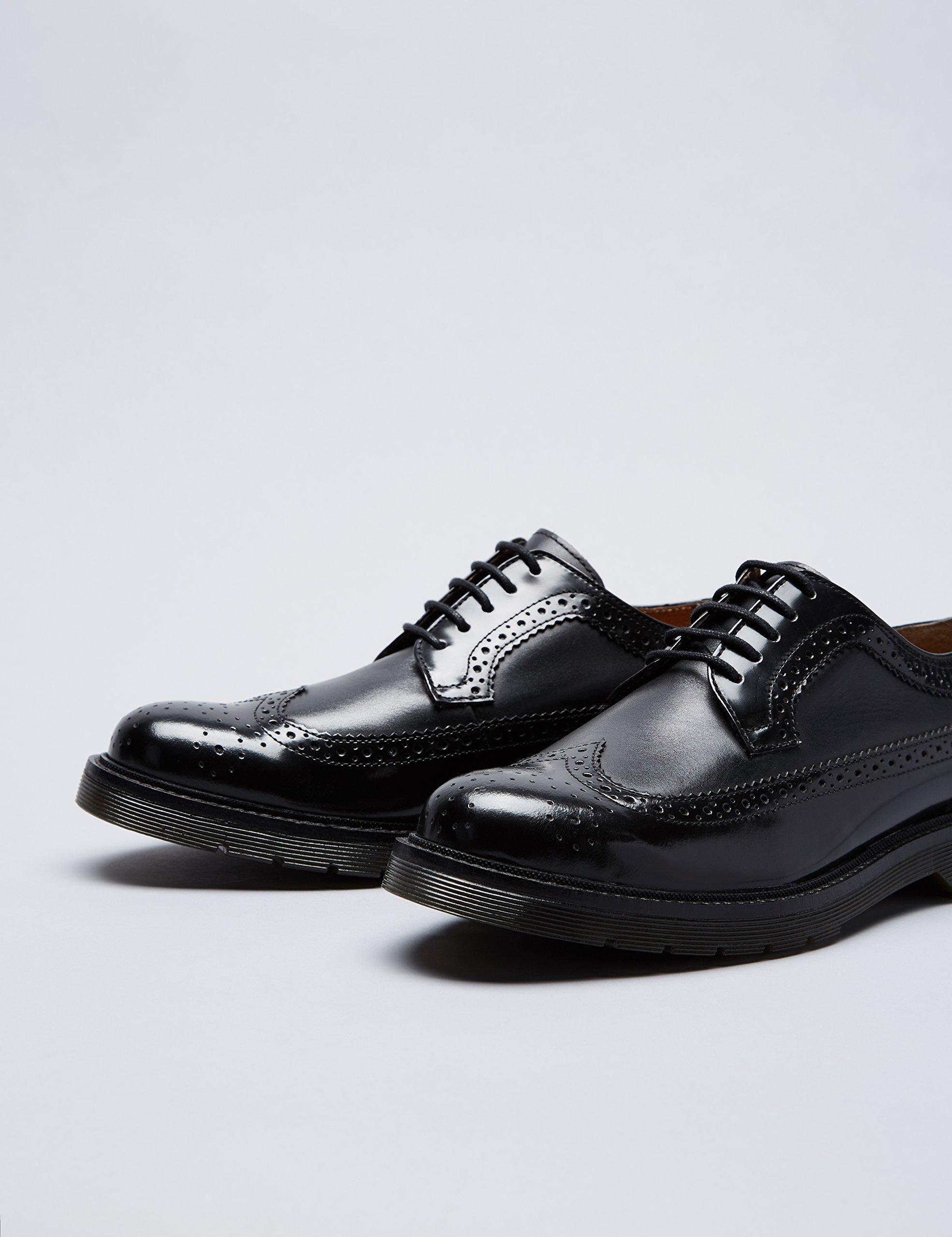 Marca Amazon – find. Zapato Piel Brogue con Calados para Hombre