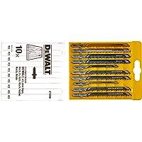 DT2290-QZ - Conjunto de 10 hojas de sierra de calar - madera