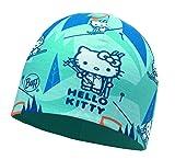 Buff Kinder Microfiber und Polar Hat Hello Kitty Mütze, Ski Day Turquoise, One