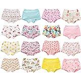 Allmeingeld Girls' Assorted Sleeveless Underwear Vests Top 100% Cotton Undershirt 3 Pack for 1-7 Years