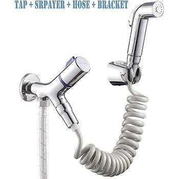Aozbz 2 Modes Toilet Hand Held Bidet Sprayer Kit Shower Bidet Tap