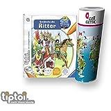 Ravensburger ® tiptoi Buch - Entdecke die Ritter + Kinder Weltkarte - Länder, Tiere, Kontinente