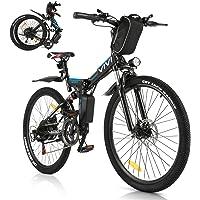 VIVI E-Bike Faltbares Elektrofahrrad,Erwachsene 26 Zoll Ebike Mountainbike Für Herren und Damen 350W Motor…