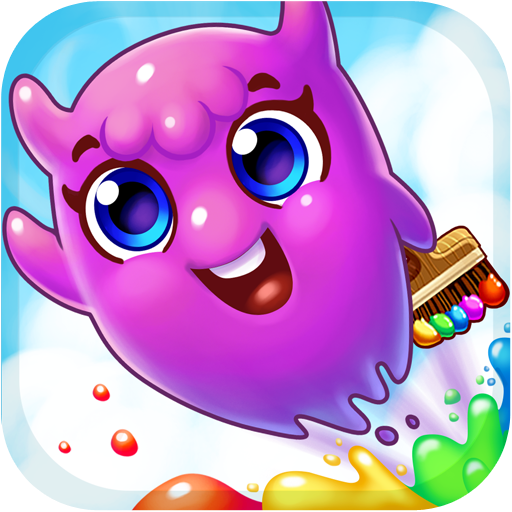 Paint Monsters - Monster Spiele Jam