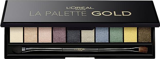 L'Oreal Paris La Palette, Gold, 7g
