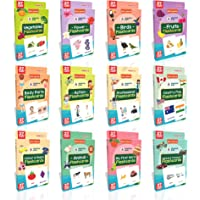 Spartan Kids Flash Cards (Mega Combo Pack) Early Learning Flash Cards Easy & Fun way of Learning 1 Year to 6 Years Kids…