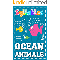 Syllables. Ocean Animals.: Syllable Book For Kids | Syllables for Preschoolers