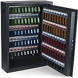 Pavo 8056019 Armoires Haute sécurité 100 clés, Acier, Gris Foncé