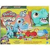 Play-Doh – Pate A Modeler – Dino Crew, Croque Dino, Jouet pour Enfants avec bruits rigolos de Dinosaure, 3 Oeufs de 70 g